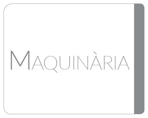 Maquinària