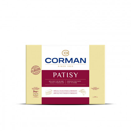 Patisy 78% MG en placa (2kg), Corman