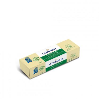 Mantega de Lleteria 82% MG en barra (2,5kg), Corman