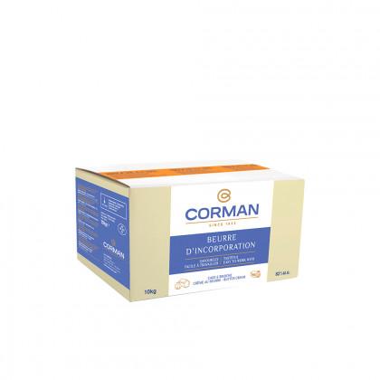 Mantega Extra per a incorporació 82% MG amb carotè (10kg), Corman