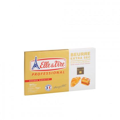 Mantega extra seca 84% MG (1kg), Elle & Vire Professionel