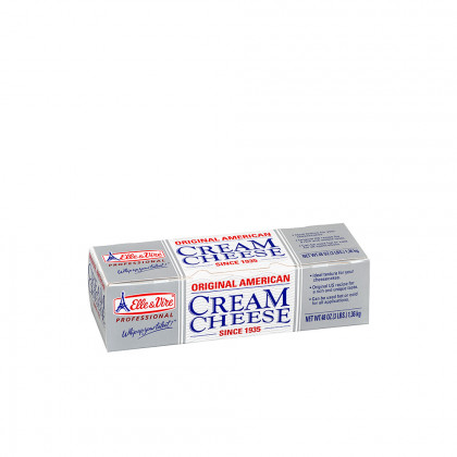 Original American Cream Cheese 34% MG (1,36kg), Elle & Vire Professionel
