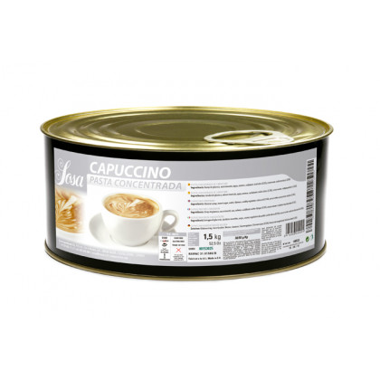 Cappuccino en pasta (1, 5kg), Sosa