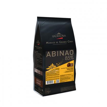 Cobertura negra Abinao 85% (3kg), Valrhona