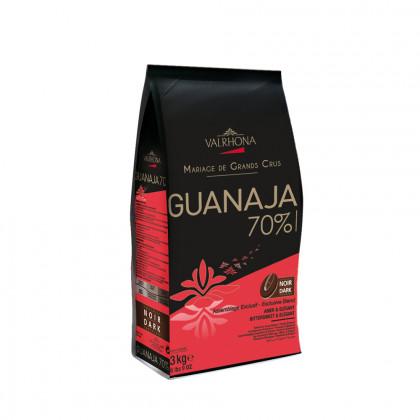 Cobertura negra Guanaja 70% (3kg), Valrhona