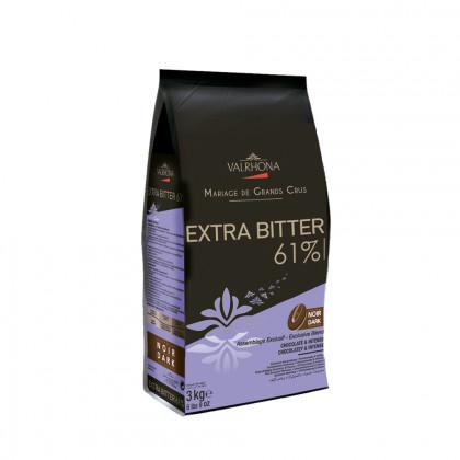 Cobertura negra Extra Bitter 61% (3kg), Valrhona