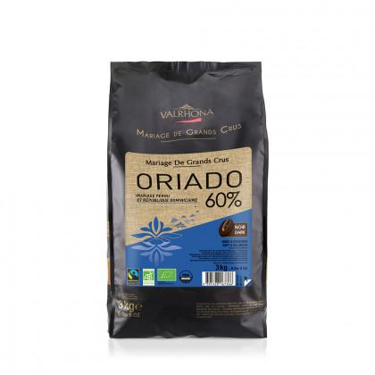 Cobertura negra Acaoba 60% (3kg), Valrhona