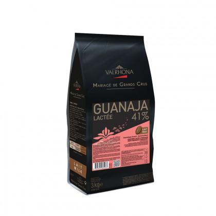 Cobertura amb llet Guanaja Lactée 41% (3kg), Valrhona