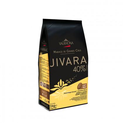Cobertura amb llet Jivara 40% (3kg), Valrhona