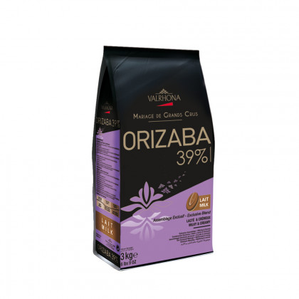 Cobertura amb llet Orizaba 39% (3kg), Valrhona