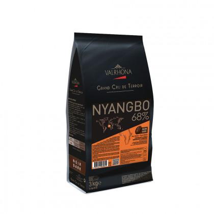 Cobertura negra Nyangbo 68% (3kg), Valrhona
