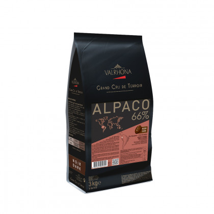 Cobertura negra Alpaco 66% (3kg), Valrhona