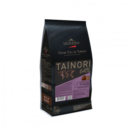Cobertura negra Taïnori 64% (3kg), Valrhona