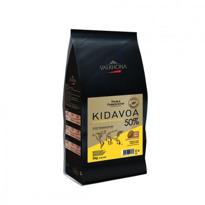 Cobertura amb llet Kidavoa 50% (3kg), Valrhona