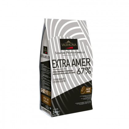 Cobertura negra Extra Amer 67% (3kg), Valrhona