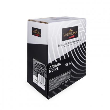 Cobertura negra Ariaga Noire 59% (5kg), Valrhona