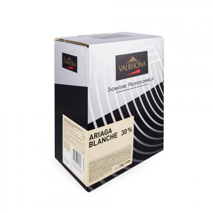 Cobertura blanca Ariaga Blanche 30% (5kg), Valrhona