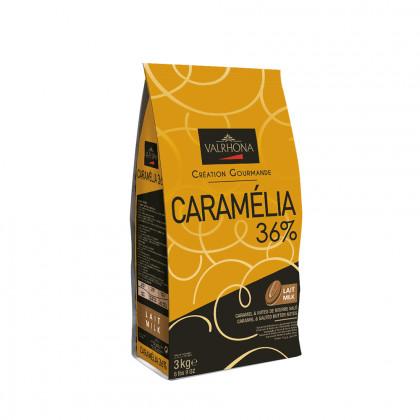 Cobertura amb llet Caramélia 36% (3kg), Valrhona