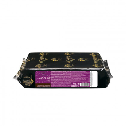 Cobertura negra Xocoline 65% (1kg), Valrhona - 3 unitats