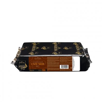 Cobertura negra Café Noir 57% (1kg), Valrhona - 3 unitats