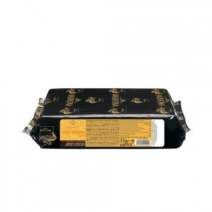 Cobertura negra Noir Orange 56% (1kg), Valrhona - 3 unitats