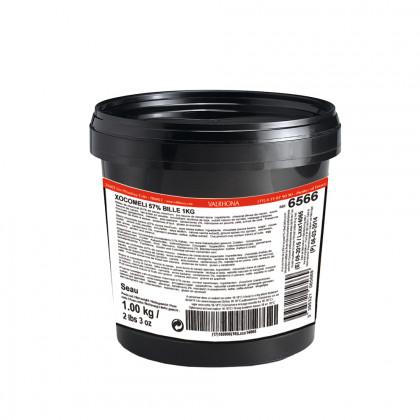 Cobertura negra Xocomeli 57% (1kg), Valrhona