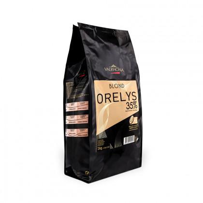 Cobertura rossa Orelys 35% (3kg), Valrhona