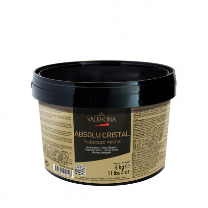 Glacejat neutre Absolu Cristall (5kg), Valrhona