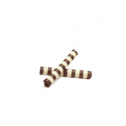 Decoració Twister blanc/negre, Dobla - 3150 unitats