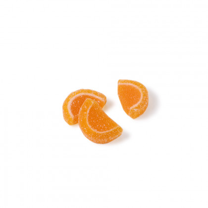 Decoració Grills gelatina taronja (petits) (2kg), Dobla