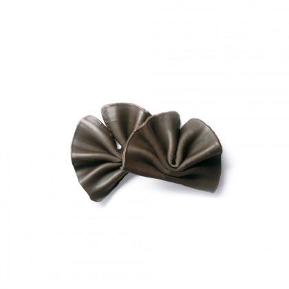 Decoració Ventall negre mini (35-37x27-33mm), Dobla - 475 unitats