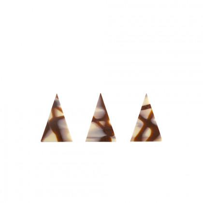 Decoració Diablo triangle (34x50mm), Dobla - 290 unitats
