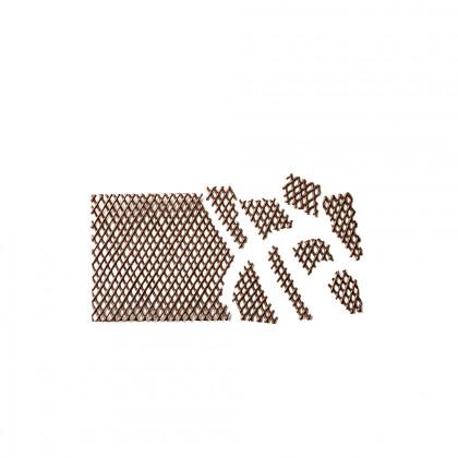 Decoració Filter negre (240x150mm), Dobla - 10 unitats