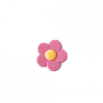 Decoració Flor rosa (Ø32mm), Dobla - 302 unitats