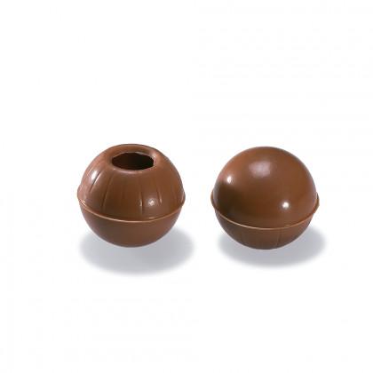 Bola buida llet 35% (2,6g/un), Valrhona - 504 unitats