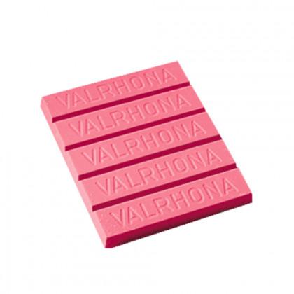 Mantega de cacau per a decoració rosa (1kg), Valrhona - 3 unitats