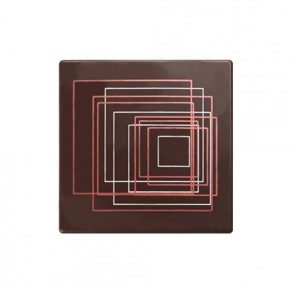 Placa Elliptik (85x85mm), Chocolatree - 48 unitats