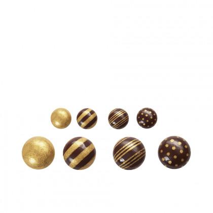 Gotes daurades (Ø19mm), Chocolatree - 198 unitats