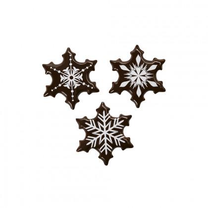 Cristalls assortit 3 models (32x32mm), Chocolatree - 180 unitats