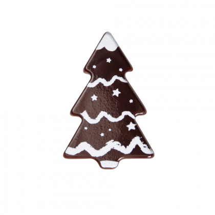 Avet garlanda blanca (40x27mm), Chocolatree - 160 unitats