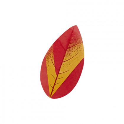 Fulla de tardor (25x12mm), Chocolatree - 286 unitats