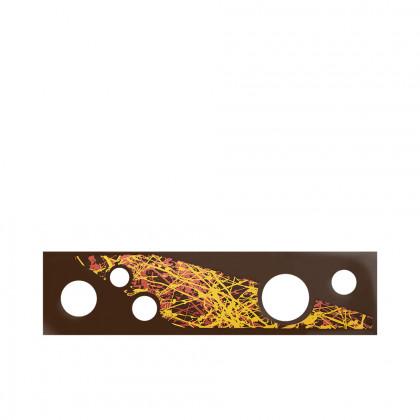 Rectangle Pop up artístic (120x30mm), Chocolatree - 45 unitats