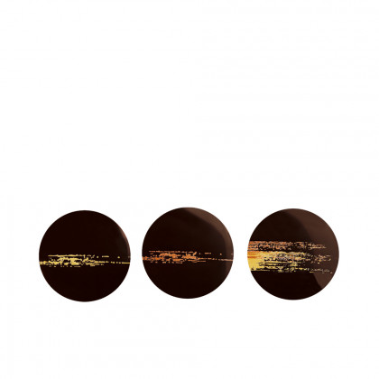 Cercle traç scintillante (Ø30mm), Chocolatree - 168 unitats