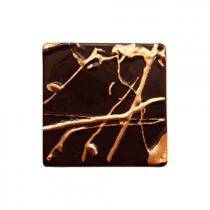 Quadrat relleu Emoció (40x40mm), Chocolatree - 96 unitats