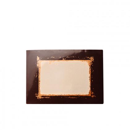 Targeta gravable + estilet (70x50mm), Chocolatree - 30 unitats