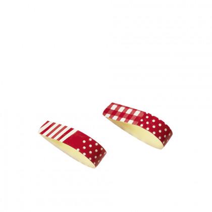 Minibucle Week-end (32x6mm), Chocolatree - 210 unitats