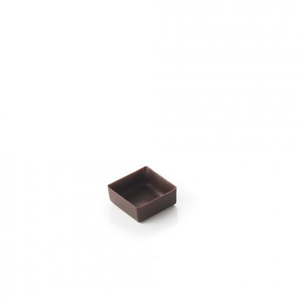 Cassoleta de xocolata extra mini quadrada, La Rose Noire
