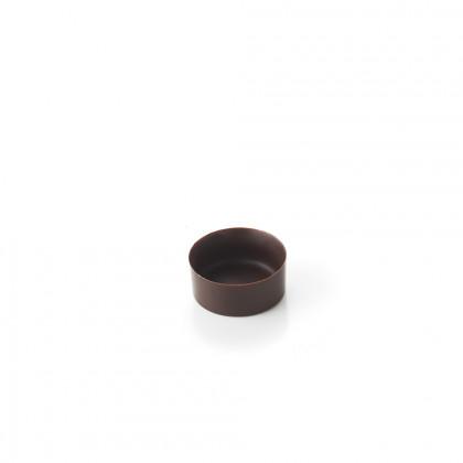 Cassoleta de xocolata extra mini rodona, La Rose Noire