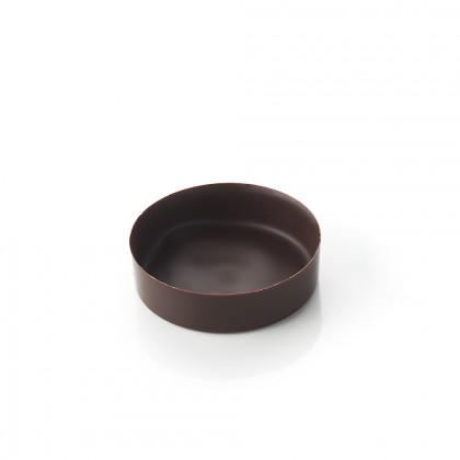 Cassoleta de xocolata prima mini rodona, La Rose Noire