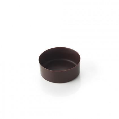 Cassoleta de xocolata mini rodona, La Rose Noire